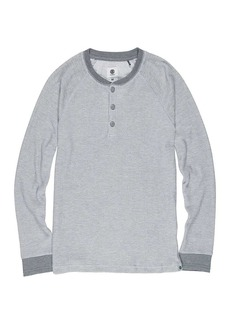 Element Men's Henley Long Sleeve Top