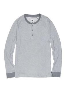 Element Men's Henley Long Sleeve Top