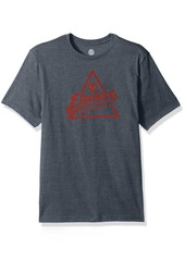 Element Men's Logo T-Shirt Heathered Colors Ascent Midnight Blue S