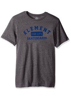Element Men's Logo T-Shirt Heathered Colors for Life Grey Heather