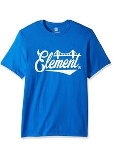 Element Men's Logo T-Shirt Solid Colors