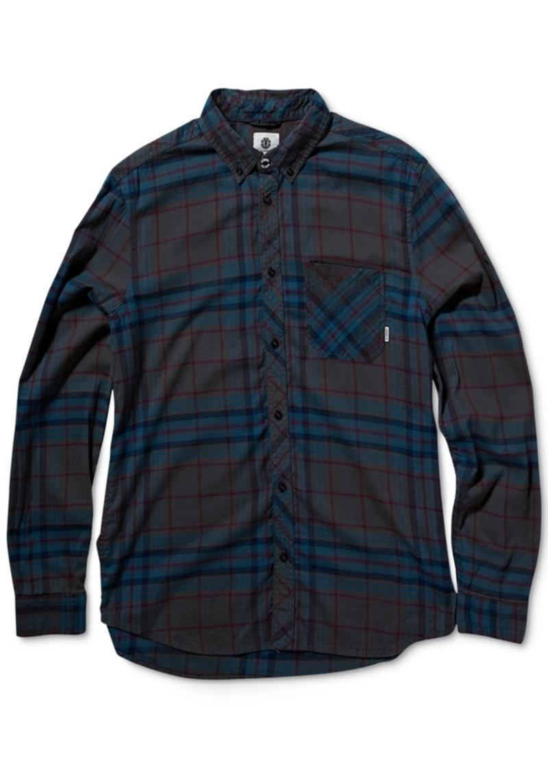 Element Men's Long-Sleeve Buffalo Plaid Shirt