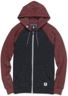 Element Men's Meridian Colorblocked Raglan-Sleeve Full-Zip Hoodie