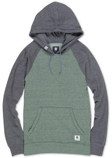Element Men's Meridian Regular-Fit Colorblocked Raglan-Sleeve Hoodie