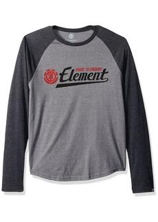Element Men's Raglan Long Sleeve T-Shirt  S