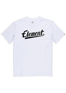 Element Men's Script Logo Graphic T-Shirt