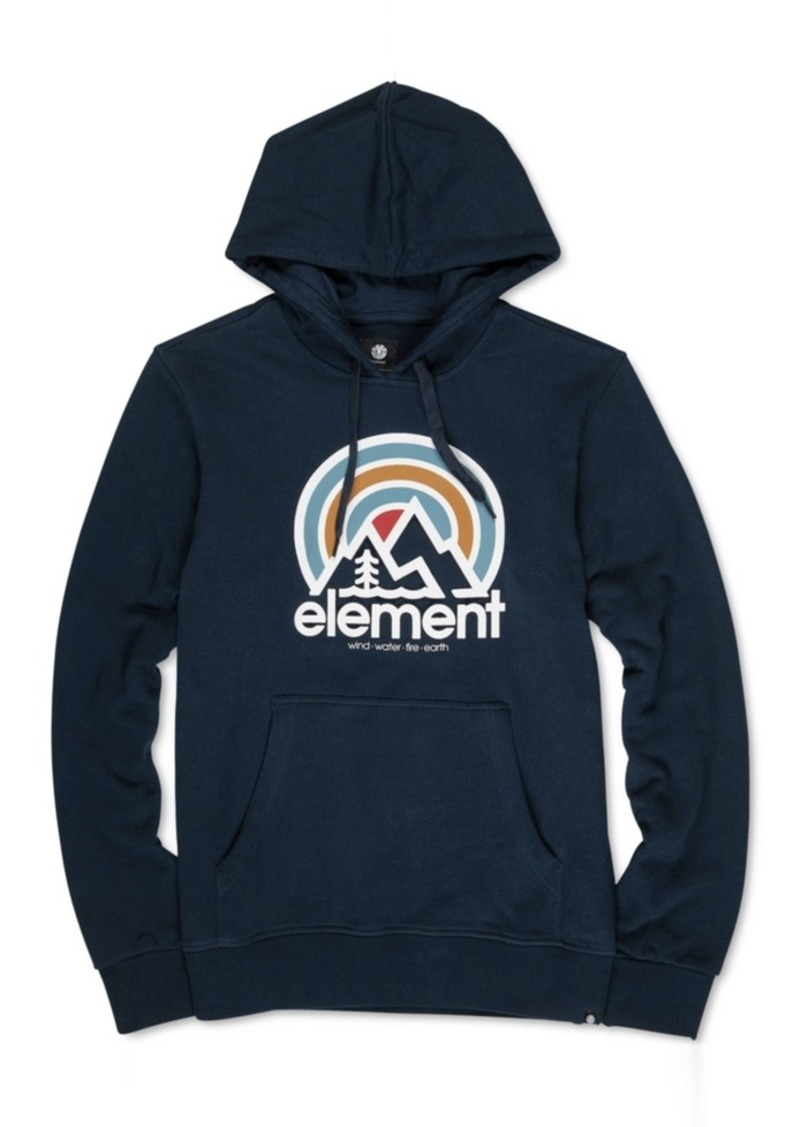 Element Men's Sonata French Terry Logo Fleece Hoodie
