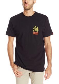 Element Men's Vinyl Short Sleeve T-Shirt Black