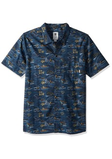 Element Men's Wendel Short Sleeve Woven Shirt  L