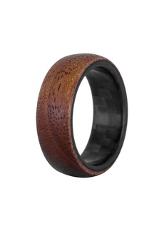 Element Ring Co. Walnut Wood & Carbon Fiber Ring