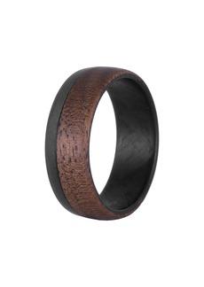 Element Ring Co. Walnut Wood & Carbon Fiber Ring