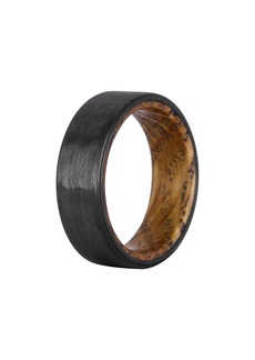 Element Ring Co. Whiskey Barrel Wood & Carbon Fiber Ring