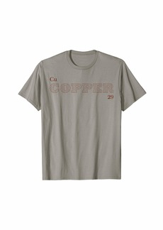 "Element Tees Periodic Table of the Elements ""Copper"" T-Shirt"