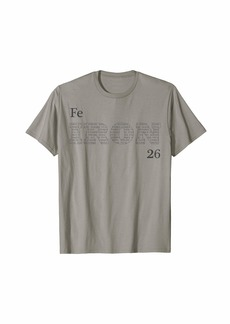 "Element Tees Periodic Table of the Elements ""Iron"" T-Shirt"