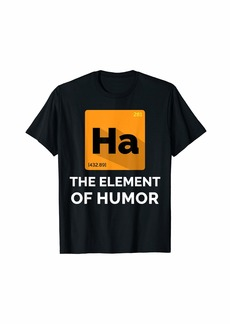 Primary Element of Humor | Funny Printed T Shirt