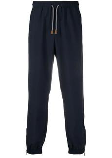 Eleventy ankle-zip track pants
