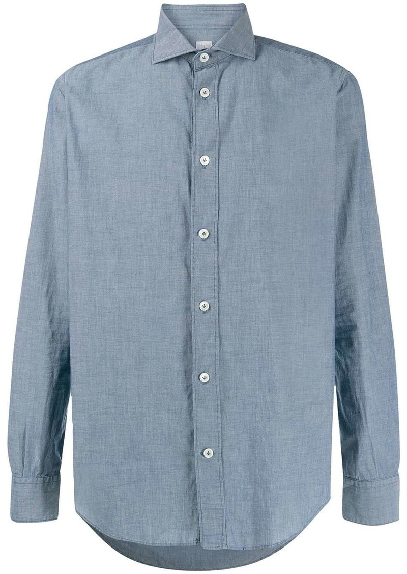 Eleventy buttoned semi fitted shirt
