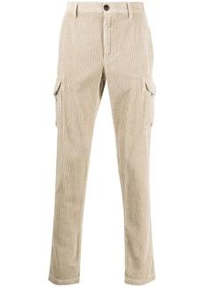 Eleventy cargo pocket corduroy trousers