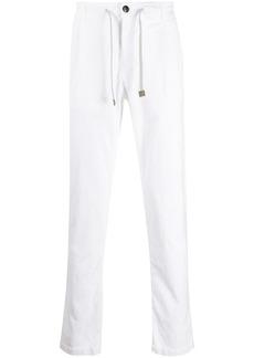 Eleventy corduroy effect straight trousers