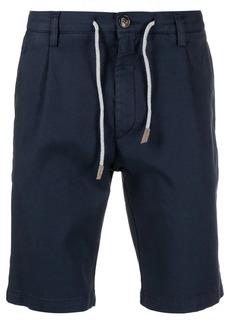 Eleventy drawstring chino shorts
