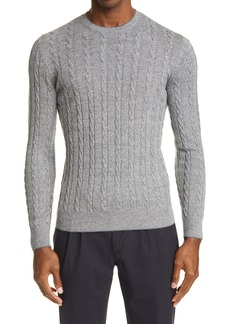 Eleventy Cable Wool Sweater