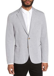 Eleventy Slim Fit Jersey Sport Coat