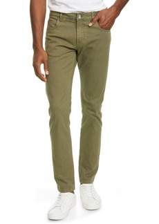 Eleventy Slim Fit Stretch Cotton Five Pocket Pants