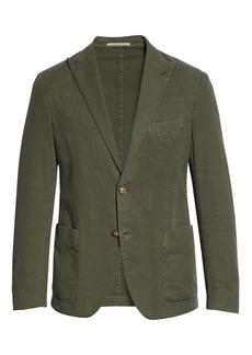 Eleventy Slim Fit Woven Sport Coat