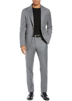 Eleventy Trim Fit Wool Suit