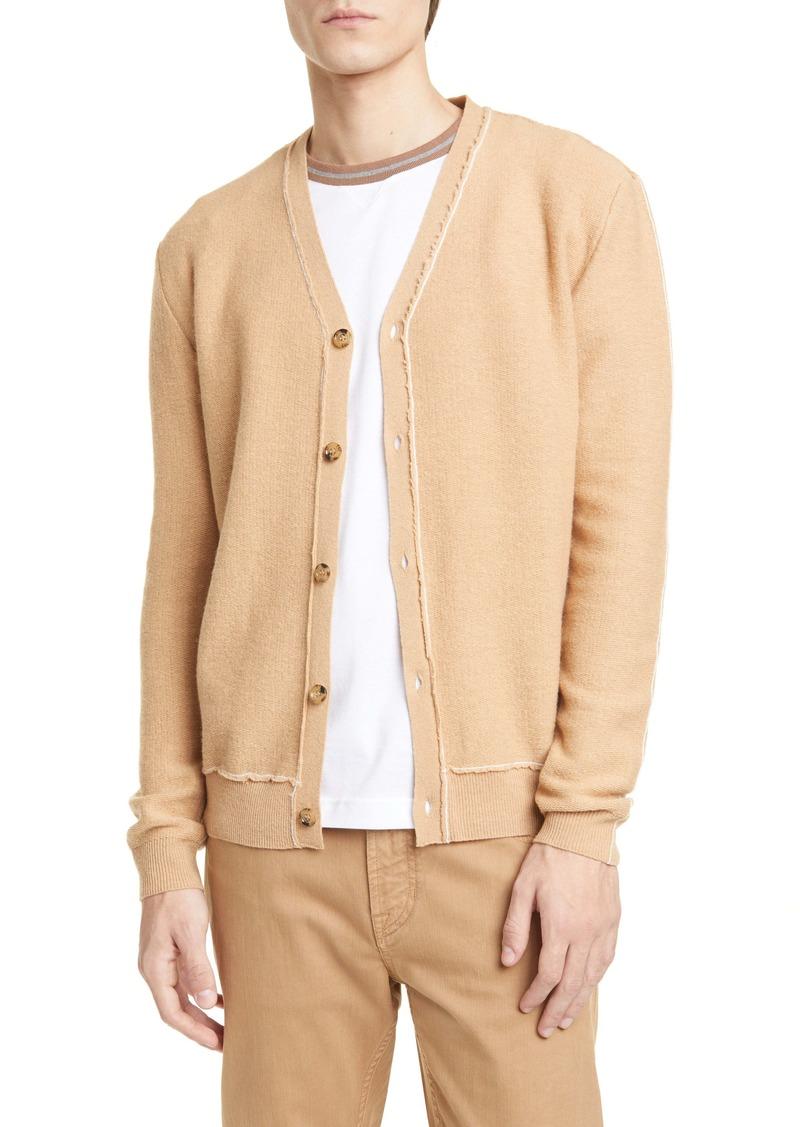 Eleventy Wool Polo Sweater
