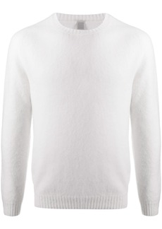 Eleventy fitted crew neck jumper