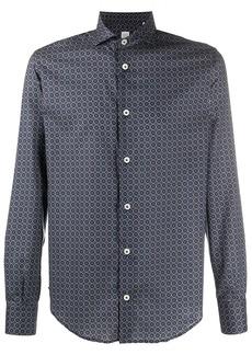 Eleventy geometric print shirt