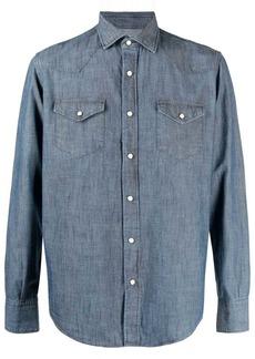 Eleventy long-sleeve denim shirt