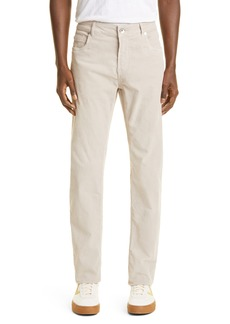Men's Eleventy Stretch Cotton Corduroy Five Pocket Pants