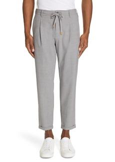 Men's Eleventy Stretch Wool Jogger Dress Pants