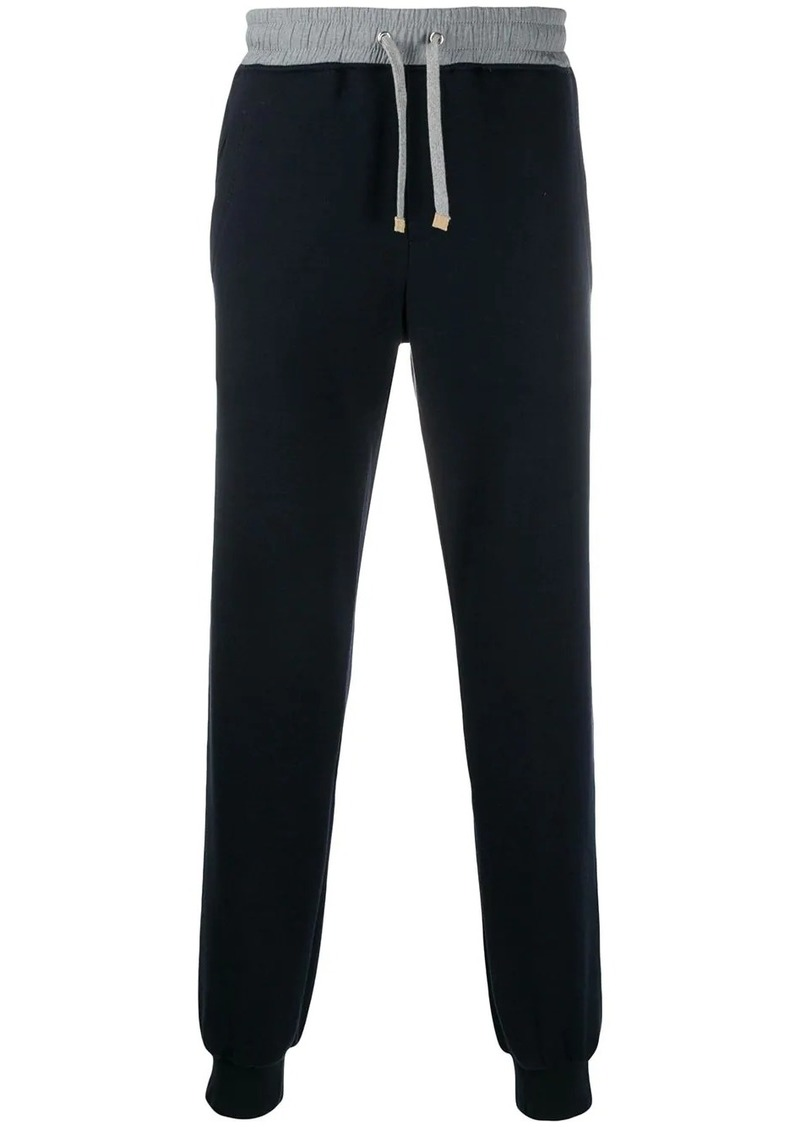Eleventy relaxed-fit cuffed track pants