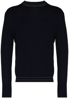 Eleventy round-neck knit jumper