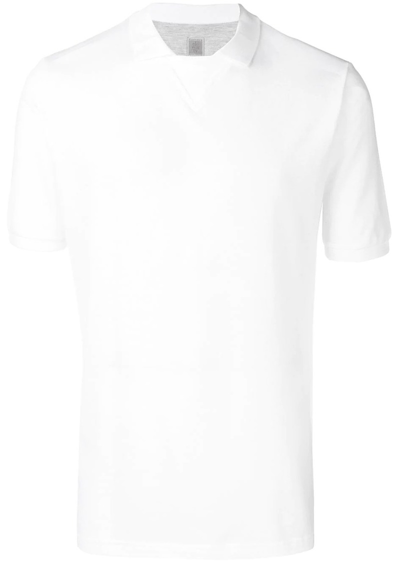 Eleventy short-sleeve fitted T-shirt