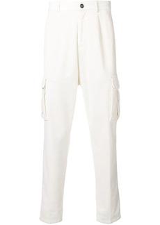 Eleventy slim cargo trousers