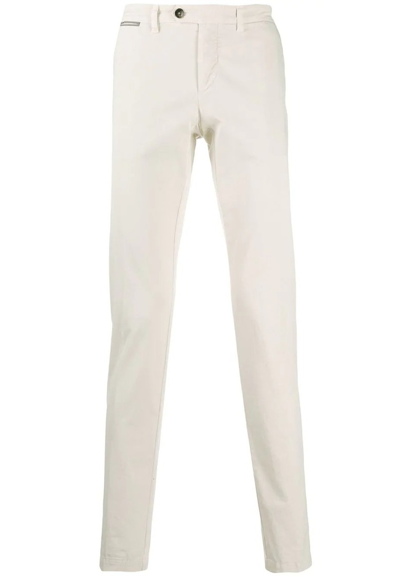 Eleventy straight-leg chino trousers