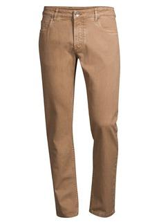 Eleventy Stretch Cotton Pants