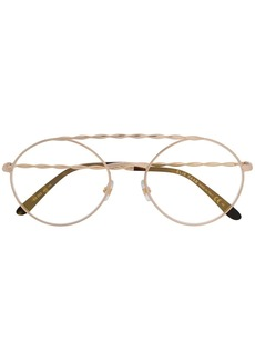 Elie Saab carved glasses