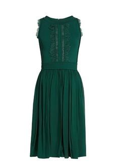Elie Saab Lace-insert sleeveless dress
