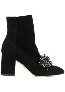 Elie Saab embellished boots