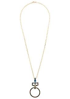 Elie Saab long pendant necklace