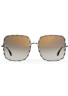 Elie Saab oversized square shaped sunglasses