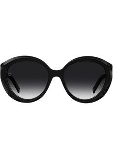 Elie Saab round tinted sunglasses