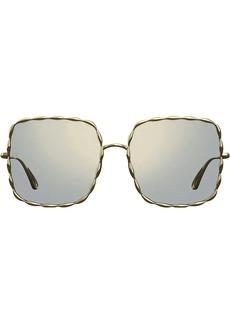 Elie Saab square sunglasses