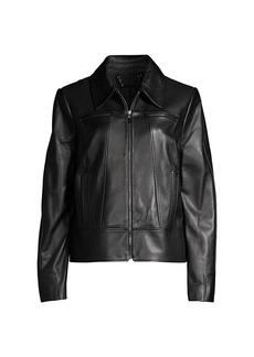Elie Tahari Addison Leather Jacket