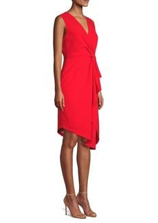 Elie Tahari Adrianne Asymmetrical Sheath Dress